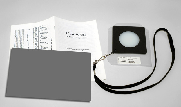 ClearWhite System-Filter and Booklet-High Res